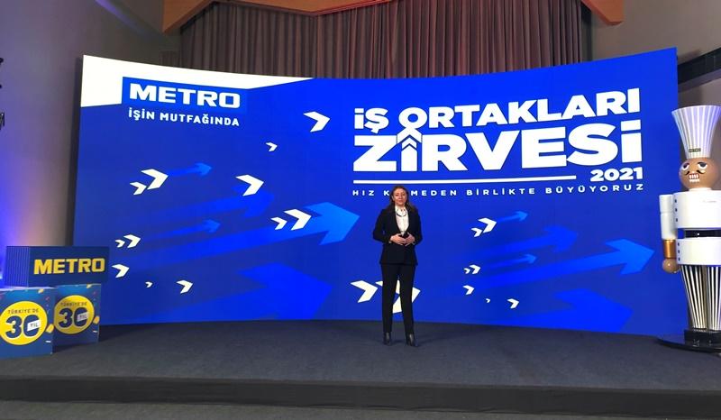 Metro Türkiye İş Ortakları Zirvesi yapıldı