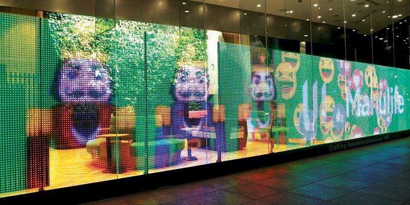 Görüntü kalitesi ve kolay kurulumu ile LG transparan led