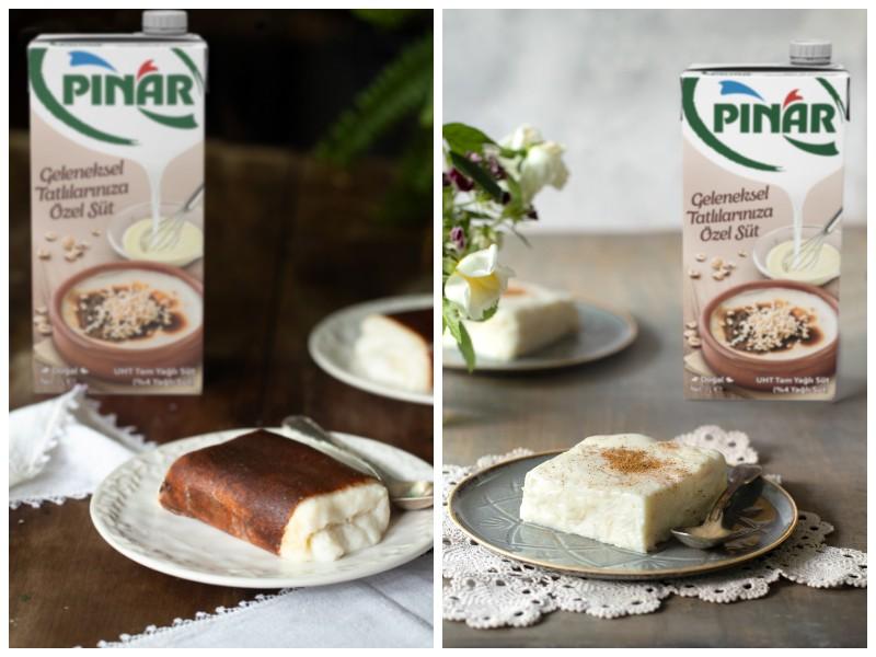 Tatlılar için özel süt Pınar'dan