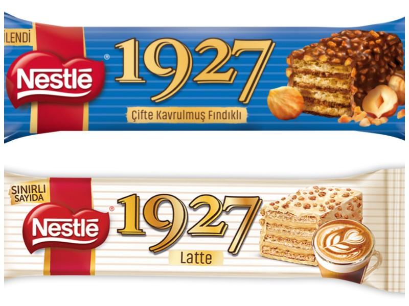 Nestlé 1927 ailesine iki farklı lezzet
