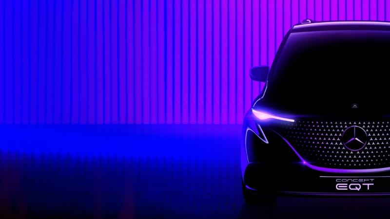 Mercedes-Benz, Concept EQT görücüye çıkıyor