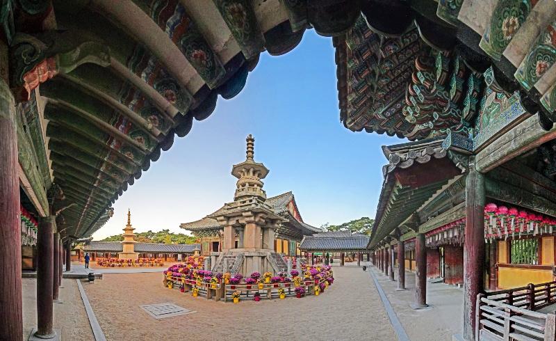 Güney Kore'de Budist tapınaklarına mistik yolculuk