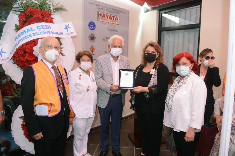 Şişli'de engelli koordinasyon merkezi açıldı