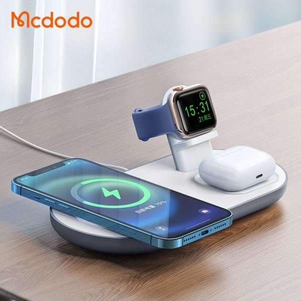 iPhone, Apple Watch ve AirPods'u aynı anda kablosuz şarj edin