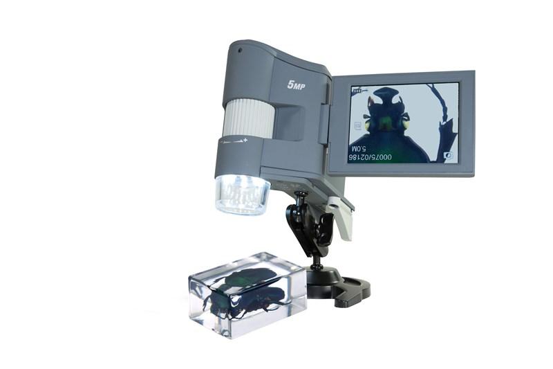 Mikroskop ile objeleri yeniden keşfedin
