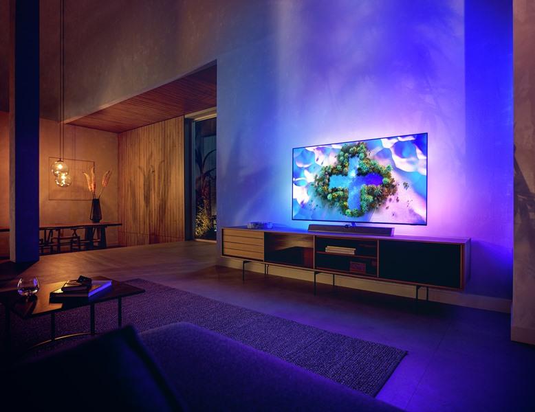 Philips OLED+ Daha Güçlü 5.Nesil Yapay Zeka