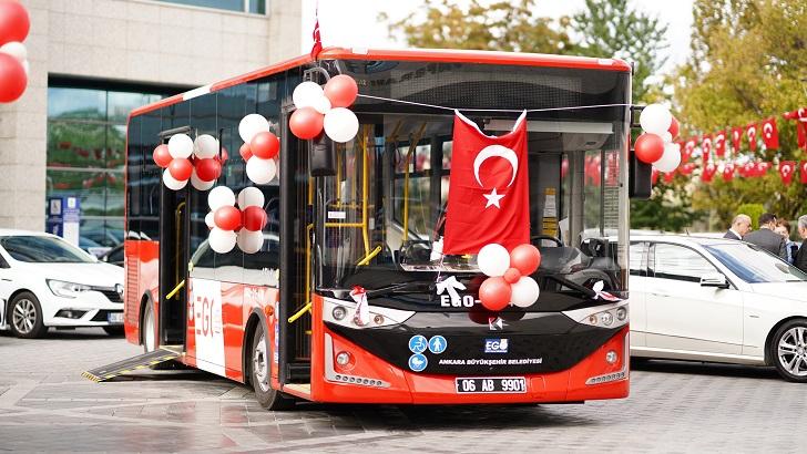 Ankara'ya yeni otobüsler geliyor