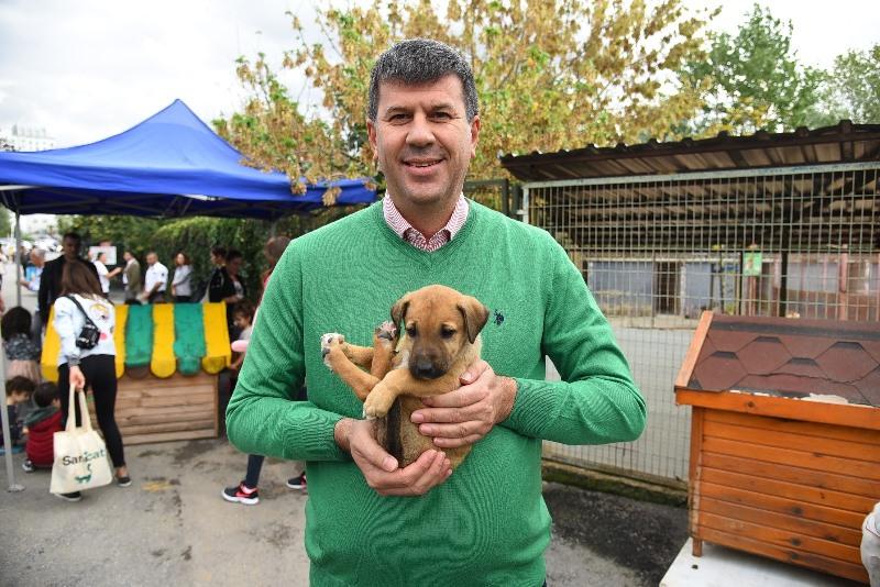 Dünya Hayvanları Koruma Günü'nde Kadıköy'de buluştular