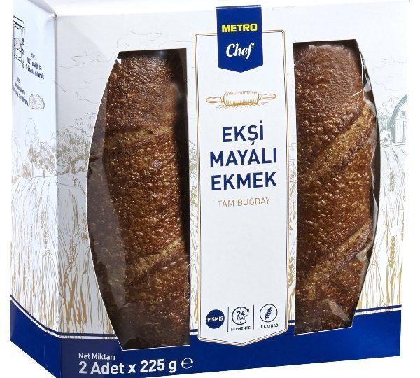 Metro Türkiye'den ekşi mayalı ekmek