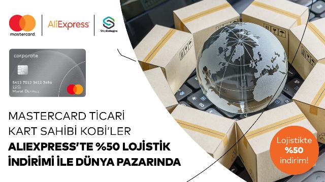 Mastercard'ın Aliexpress'te e-ihracatçılara destek
