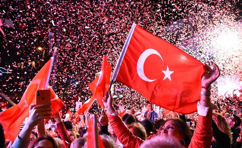 Cumhuriyet bayramı Kadıköy'de kutlanıyor