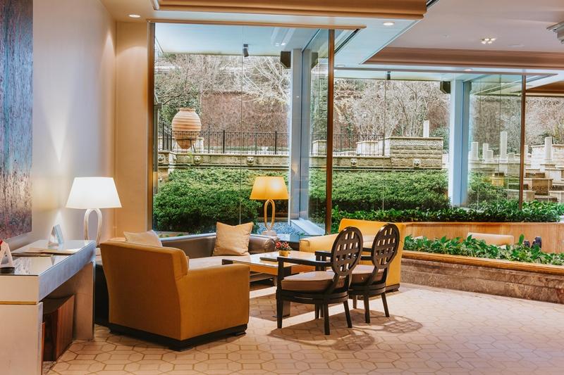 Grand Hyatt İstanbul Mezzanine Lounge'da sıcacık 5 çayı